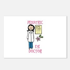 Pediatric Eye Doctor Postcards (Package of 8)