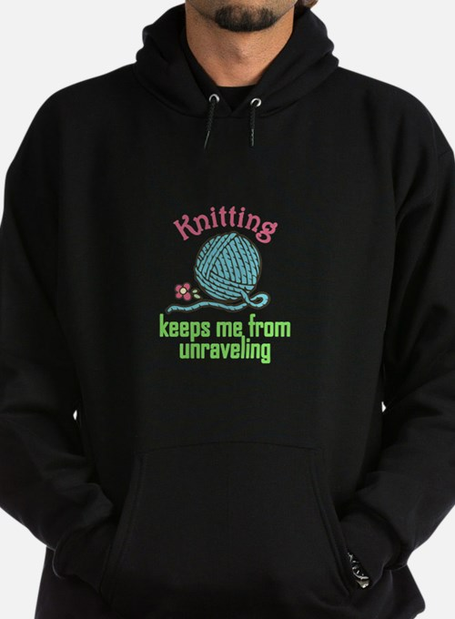 Knitting Therapy Hoodie