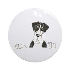 NMtl Lookover Ornament (Round)