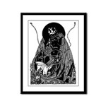 Poe Vignette 11 Framed Panel Print
