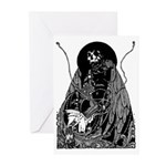 Poe Vignette 11 Greeting Cards (Pk of 10)