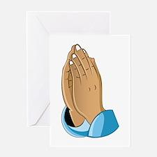 Praying Hands Greeting Cards
