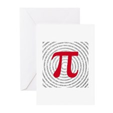 Pi Greeting Cards (Pk of 10)