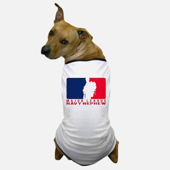 Major League Nephew - NAVY Dog T-Shirt