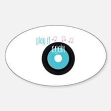 Play It Again Decal