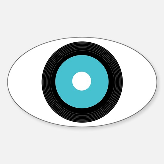 Record Decal