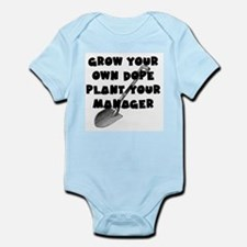 Grow your own dope - Plant your Manager Body Suit