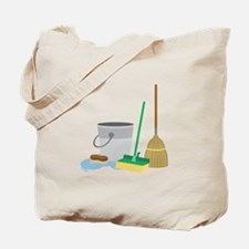 Cleaning Supplies Tote Bag