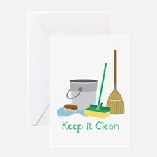 Keep it Clean Greeting Cards