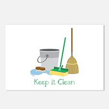 Keep it Clean Postcards (Package of 8)
