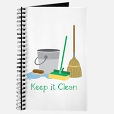Keep it Clean Journal