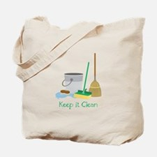 Keep it Clean Tote Bag