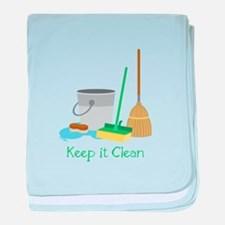 Keep it Clean baby blanket
