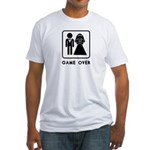 Game Over Fitted T-Shirt