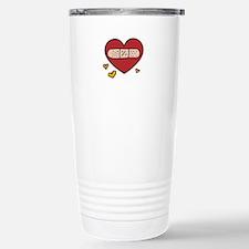Valentine Band Aid Travel Mug