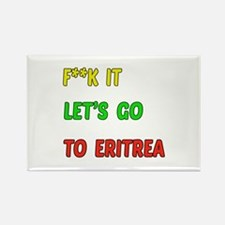 Let's go to Eritrea Rectangle Magnet