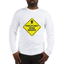 Wine Maker Long Sleeve T-Shirt