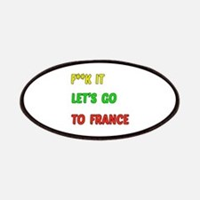 Let's go to France Patch