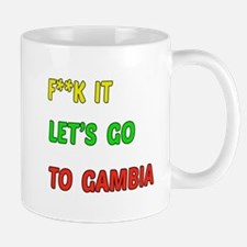 Let's go to Gambia Mug