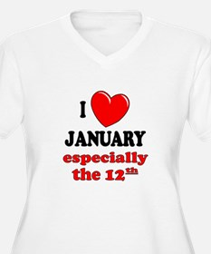 January 12th T-Shirt