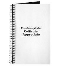 Contemplate, Cultivate, Appre Journal