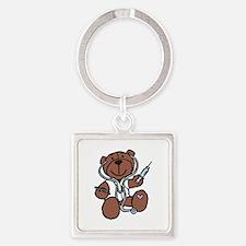 Teddy Bear Doctor Keychains