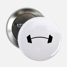 "Barbell Weight 2.25"" Button (10 pack)"