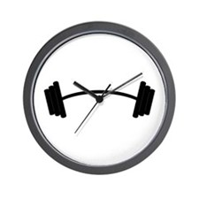 Barbell Weight Wall Clock