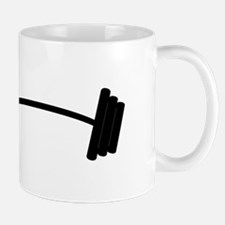 Barbell Weight Mugs