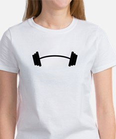 Barbell Weight T-Shirt