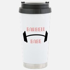 Barbell Babe Travel Mug