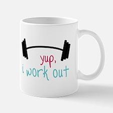 Work Out Mugs