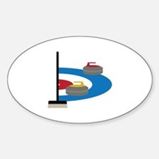 Curling Sport Decal