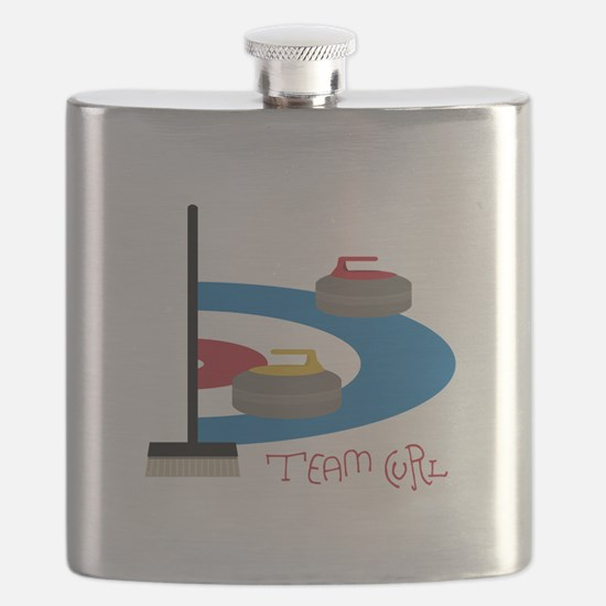 Team Curl Flask