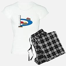 Curling Sport Pajamas