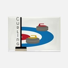 Curling Sport Magnets