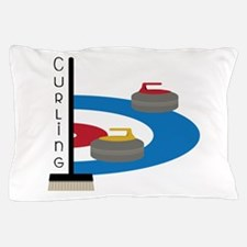 Curling Sport Pillow Case