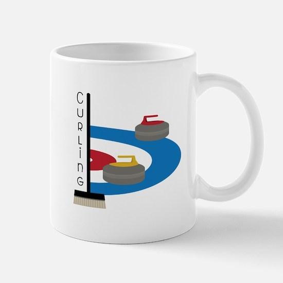 Curling Sport Mugs