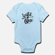 Wild One 1st Birthday Baby Shirt Onesie Body Suit