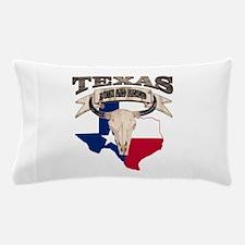 Bull Skull Texas home Pillow Case