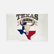 Bull Skull Texas home Magnets