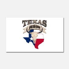 Bull Skull Texas home Car Magnet 20 x 12