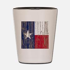 Cute Texas flag Shot Glass