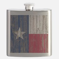 Cute Texas flag Flask