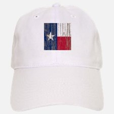 barn wood Texas Flag Baseball Baseball Cap