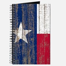 barn wood Texas Flag Journal