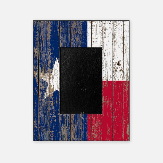 barn wood Texas Flag Picture Frame