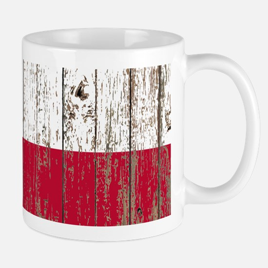 barn wood Texas Flag Mugs
