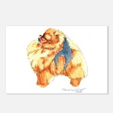 Pomeranian Profile sable Postcards (Package of 8)