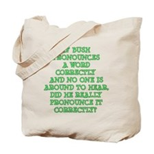 Pronounciation Tote Bag
